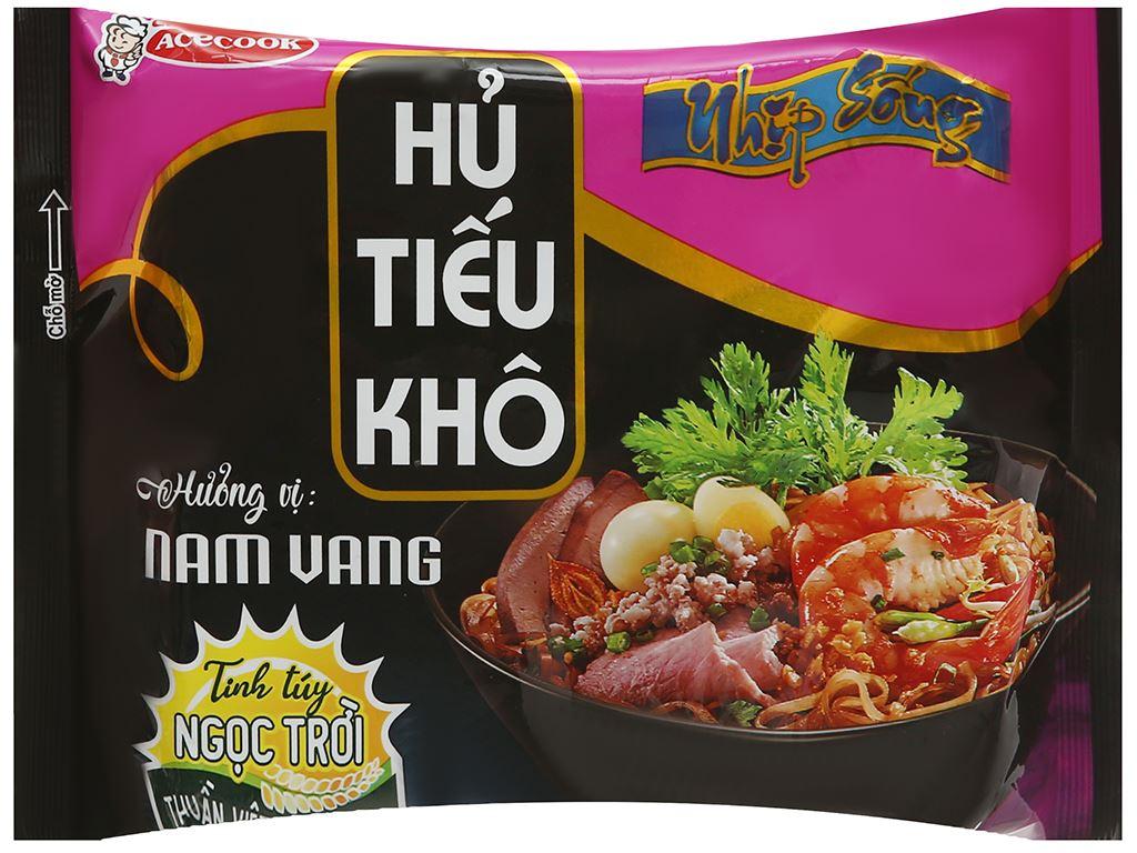 Thùng 18 gói hủ tiếu khô Nhịp Sống hương vị Nam Vang 71g 2