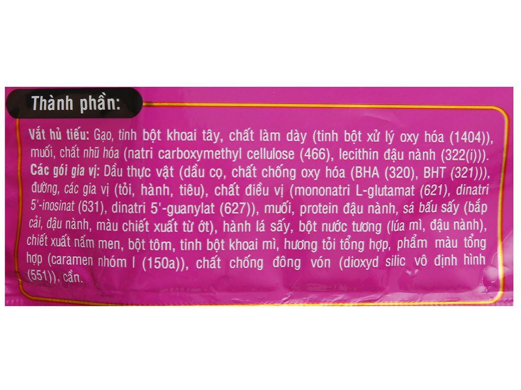 Thùng 18 gói hủ tiếu khô Nhịp Sống hương vị Nam Vang 71g 5