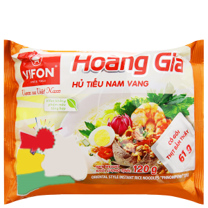 Hủ tiếu Nam Vang ăn liền Vifon Hoàng Gia gói 120g