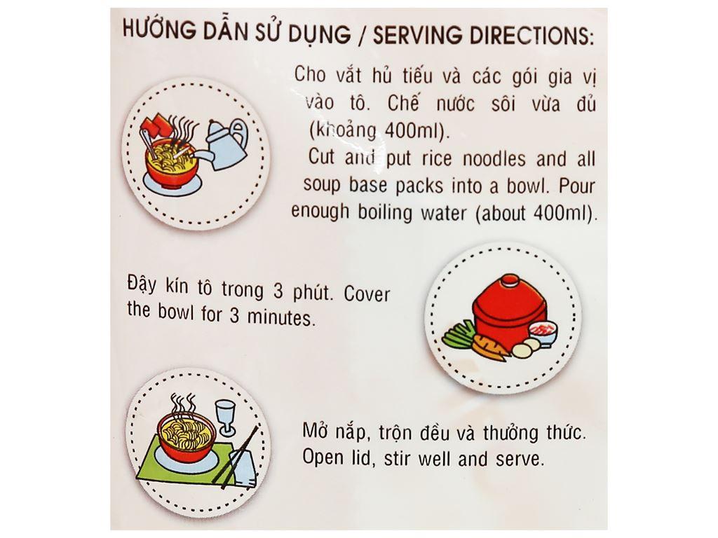 Hủ tiếu Nam Vang Vifon gói 65g 8