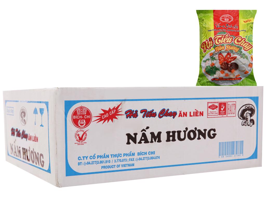 Thùng 30 gói Hủ tiếu chay nấm hương ăn liền Bích Chi gói 60g 2
