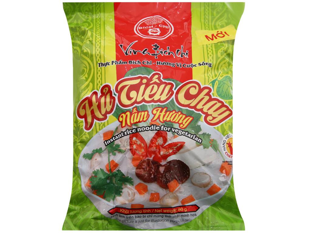 Thùng 30 gói Hủ tiếu chay nấm hương ăn liền Bích Chi gói 60g 3