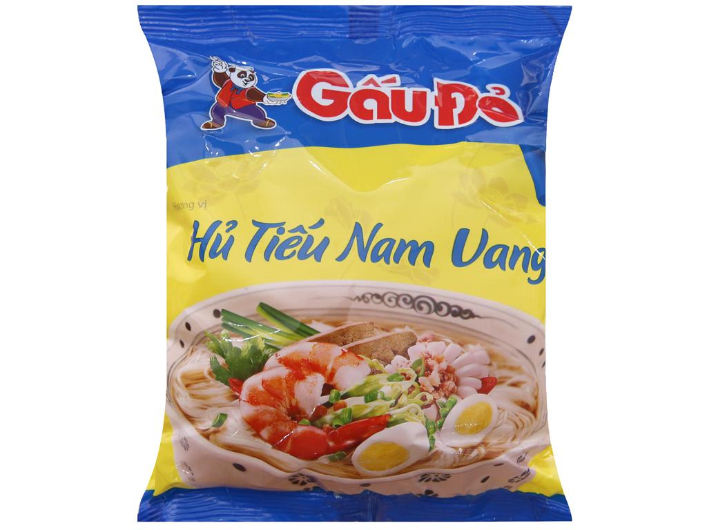 Hủ tiếu Nam Vang ăn liền Gấu Đỏ gói 65g 1