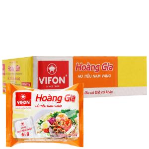 Thùng 18 gói Hủ tiếu Nam Vang ăn liền Vifon Hoàng Gia gói 120g