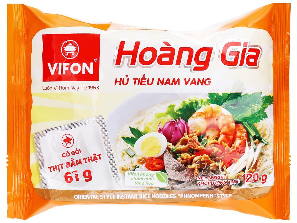 Thùng 18 gói hủ tiếu Nam Vang Vifon Hoàng Gia 120g 6