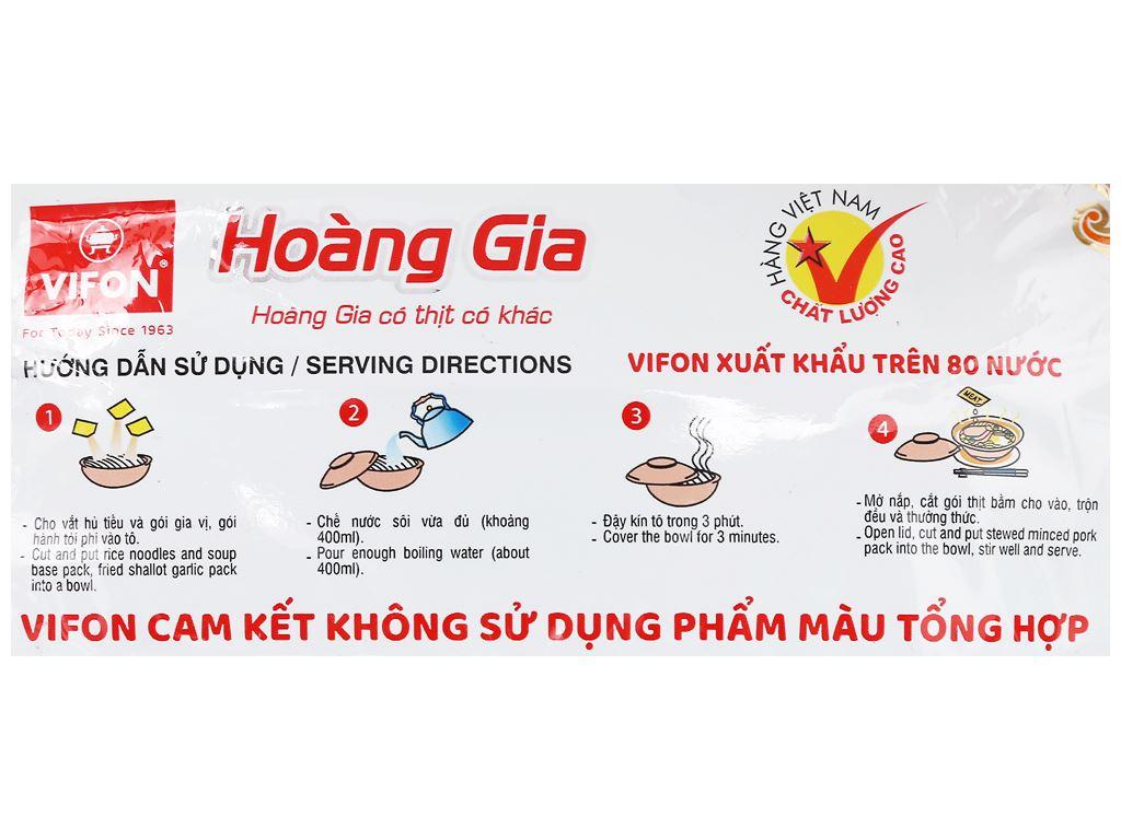 Thùng 18 gói hủ tiếu Nam Vang Vifon Hoàng Gia 120g 8