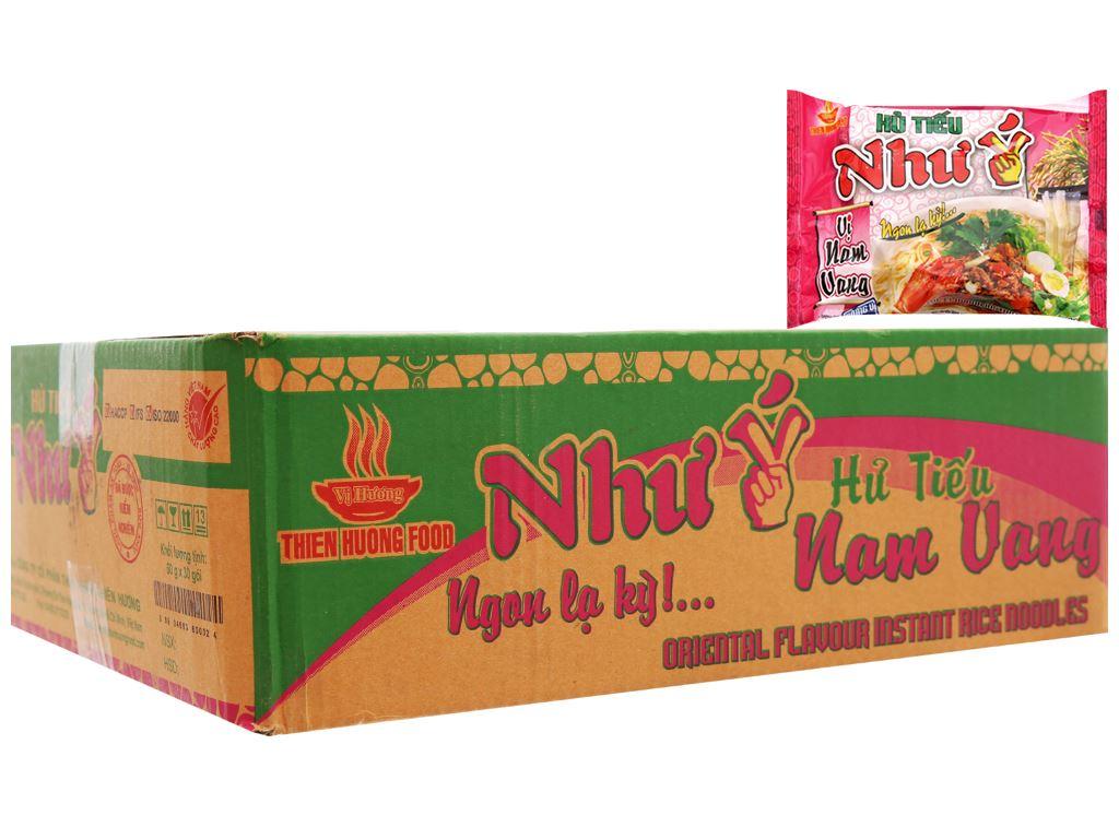 Thùng 30 gói Hủ tiếu Nam Vang ăn liền Như Ý 60g 3