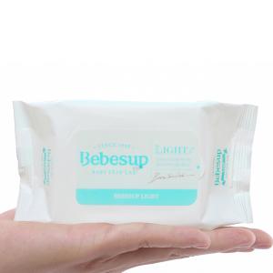 Khăn ướt em bé Bebesup Light hương tự nhiên 20 miếng