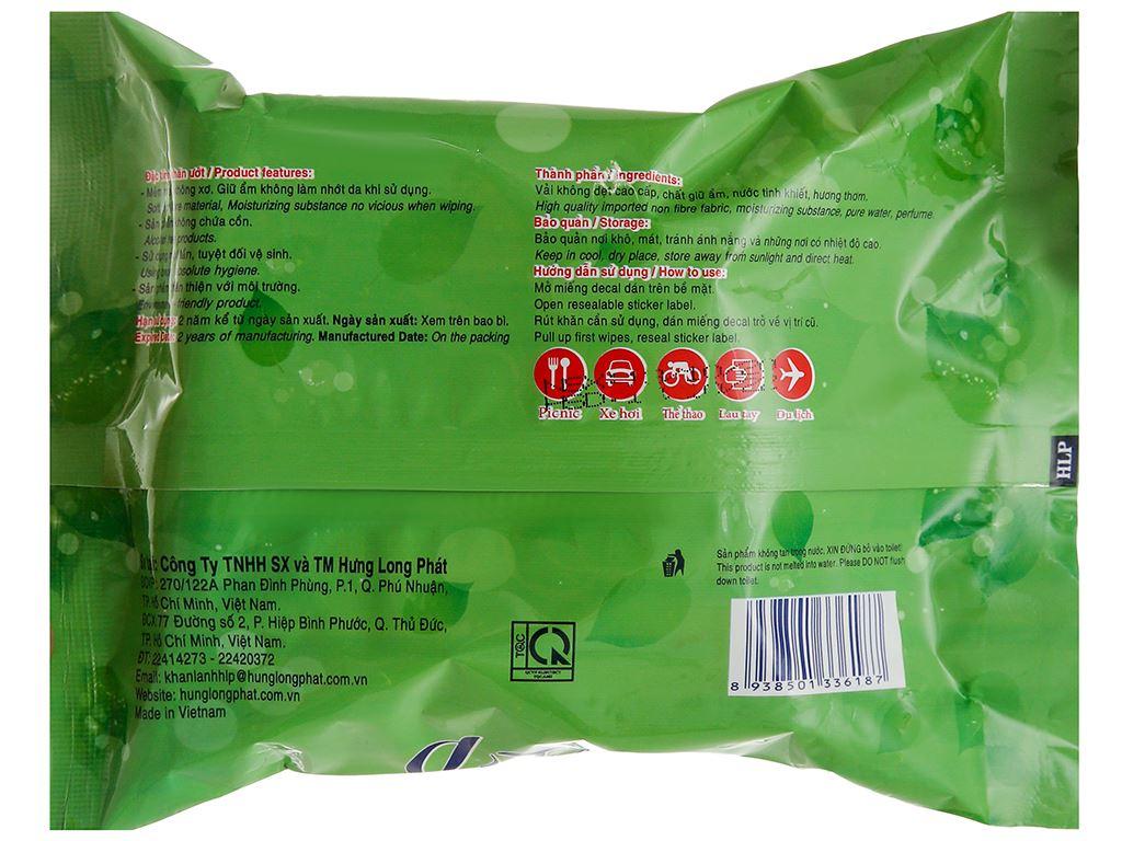 Khăn ướt đa năng HLP gói 20 miếng 2