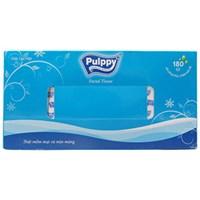 Khăn giấy Pulppy hộp 180 tờ 2 lớp (186x200mm)
