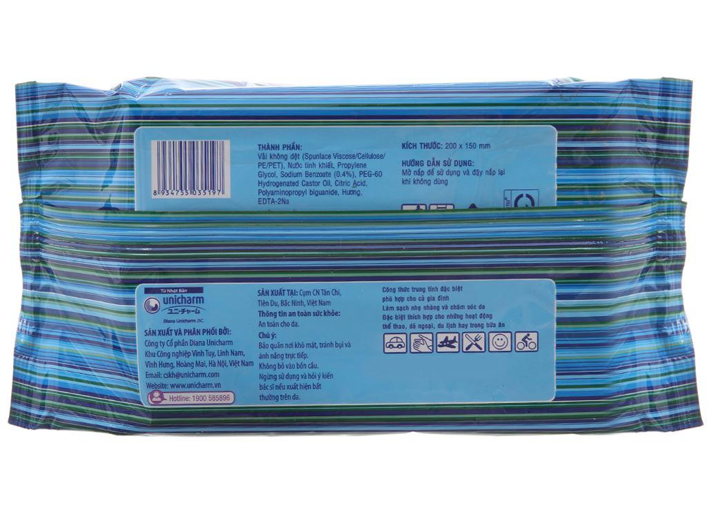 Khăn ướt Fressi Care All hương tự nhiên gói 100 miếng 3