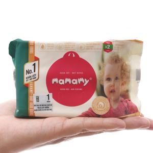 Khăn ướt chống hăm Mamamy không mùi gói 30 miếng