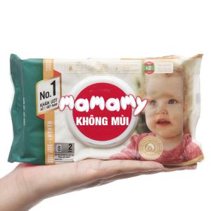 Khăn ướt chống hăm Mamamy gói 80 tờ
