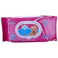 Khăn ướt Nano Baby Wipes không mùi gói 100 tờ (200mmx150mm)