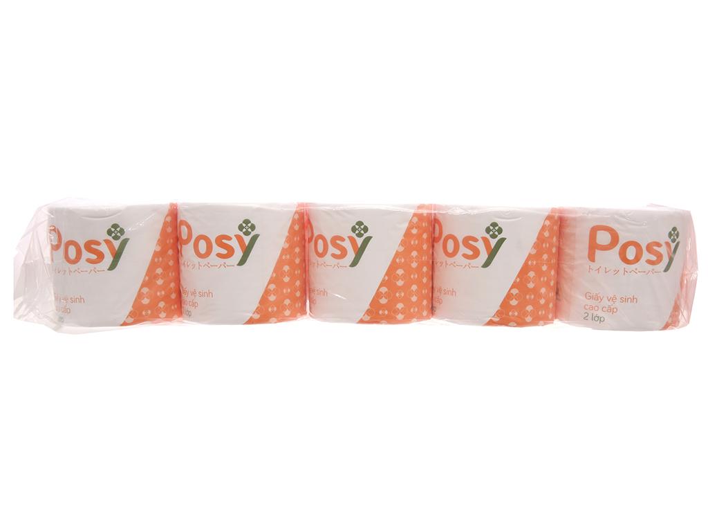 10 cuộn giấy vệ sinh Posy 2 lớp 1