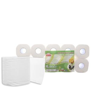 10 cuộn giấy vệ sinh Lency 2 lớp