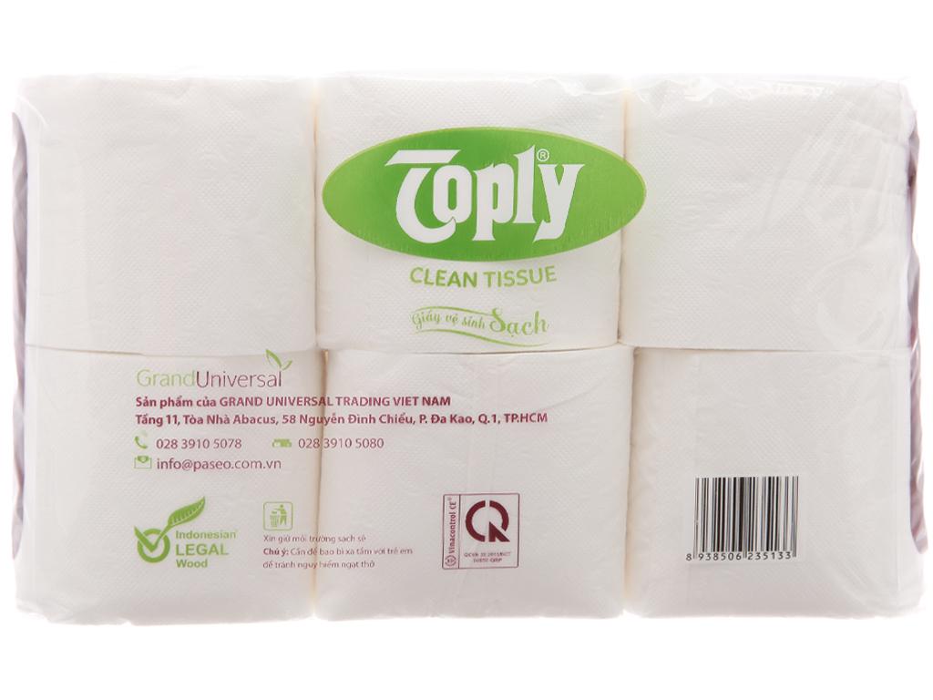 12 cuộn giấy vệ sinh Toply 2 lớp 3