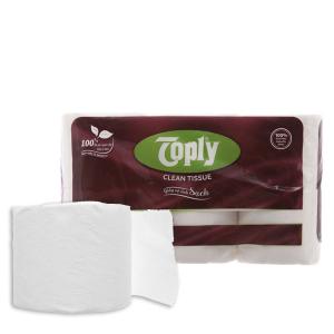 12 cuộn giấy vệ sinh Toply 2 lớp
