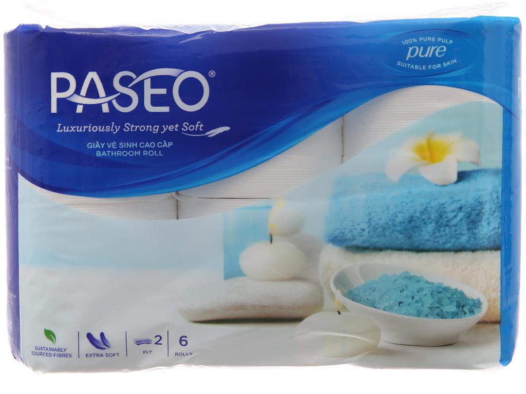 Giấy vệ sinh cao cấp Paseo 6 cuộn 2 lớp 2