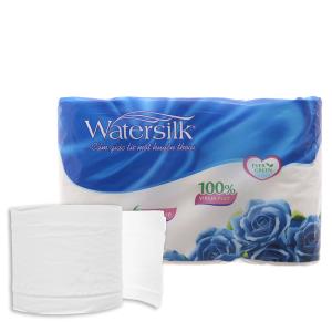 6 cuộn giấy vệ sinh Watersilk 3 lớp