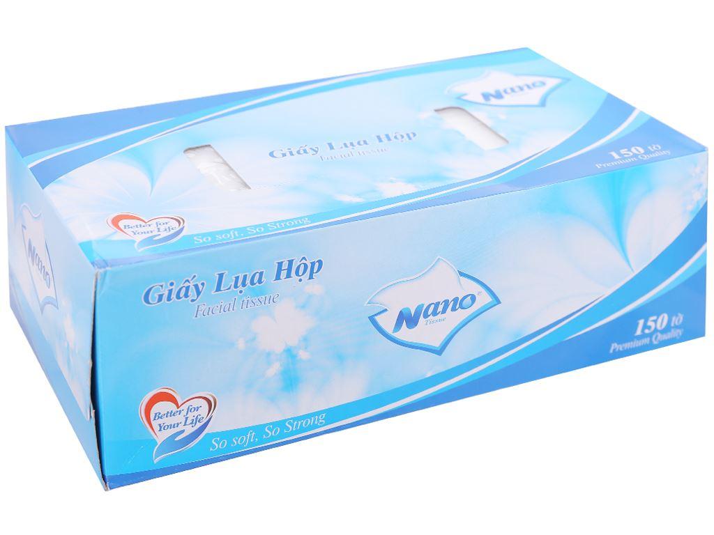 Khăn giấy lụa Nano hộp 150 tờ 2 lớp 1