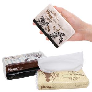 Khăn giấy bỏ túi Kleenex Vintage 2 lớp 3 gói x 50 tờ
