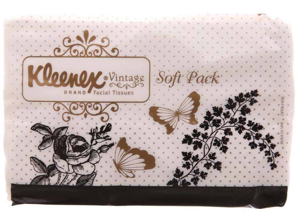 Khăn giấy bỏ túi Kleenex Vintage 2 lớp 3 gói x 50 tờ 1