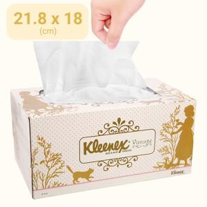 Khăn giấy Kleenex Vintage 2 lớp hộp 170 tờ