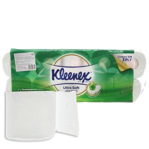 10 cuộn giấy vệ sinh Kleenex 3 lớp