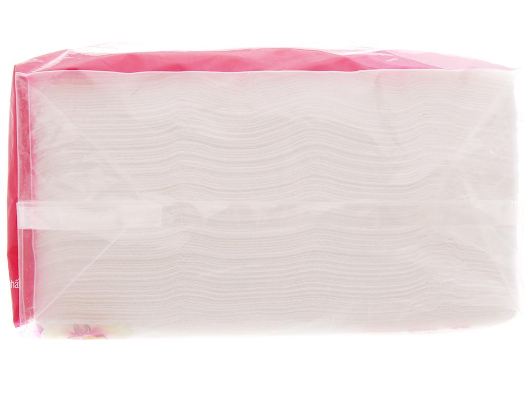 Khăn giấy lụa Hoa Lan gói 100 tờ 1 lớp 30x32cm 6