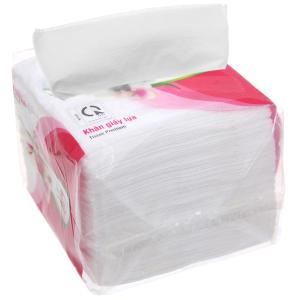 Khăn giấy lụa Hoa Lan gói 100 tờ 1 lớp 22x22cm