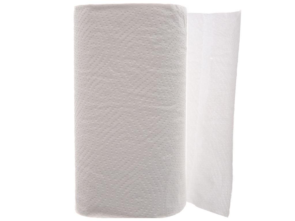 2 cuộn khăn giấy đa năng E'mos Premium 2 lớp 3