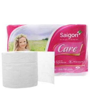 12 cuộn giấy vệ sinh Saigon Care 2 lớp