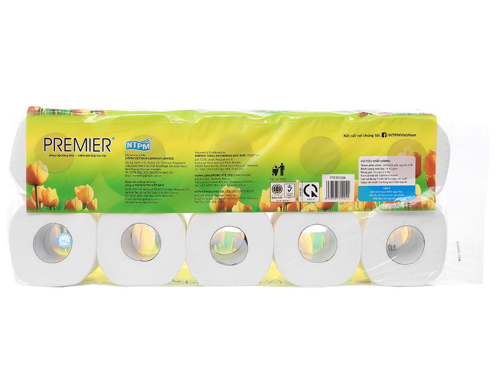 10 cuộn giấy vệ sinh Premier 3 lớp 2