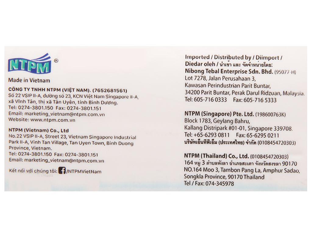 Khăn giấy lụa NTPM VinaTissue 2 lớp gói 280 tờ 4