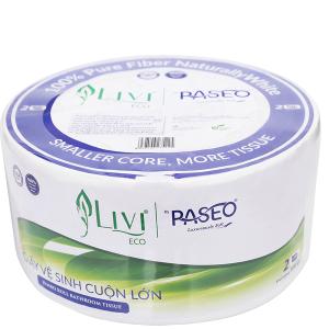 Giấy vệ sinh cuộn lớn Let-green Livi Eco 2 lớp 500g