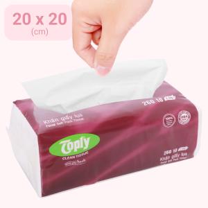 Khăn giấy lụa Toply 2 lớp gói 260 tờ