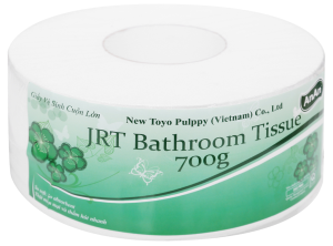 Giấy vệ sinh cuộn lớn An An JRT Bathroom 2 lớp 700g
