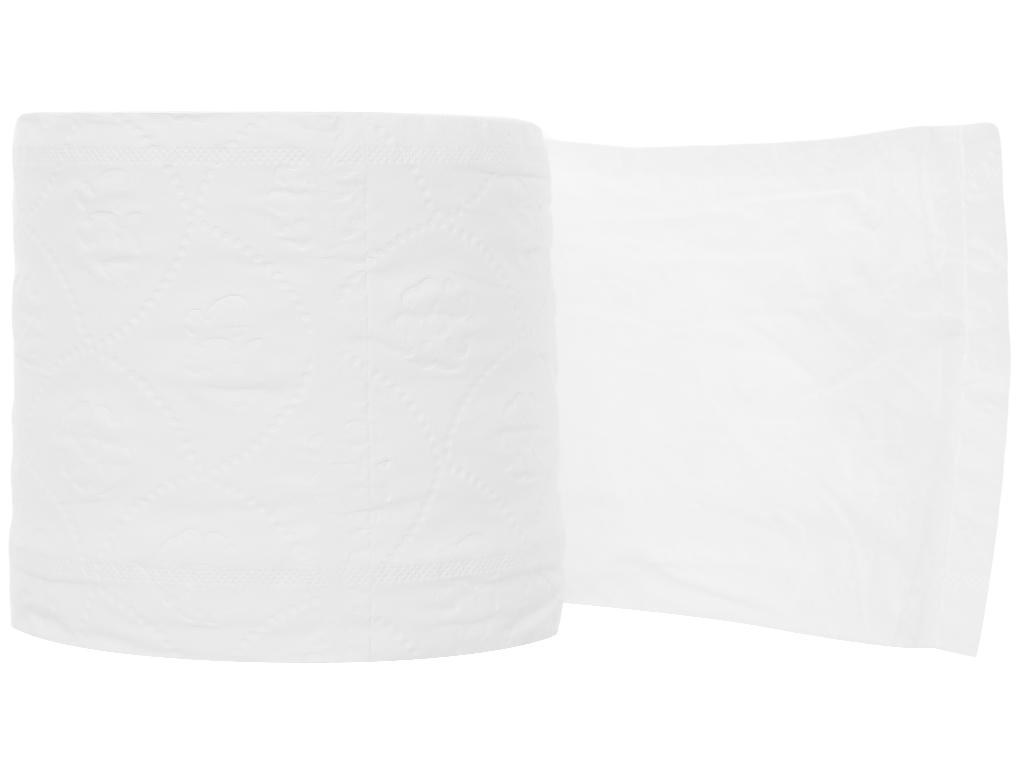 10 cuộn giấy vệ sinh Pulppy Supreme 2 lớp 3
