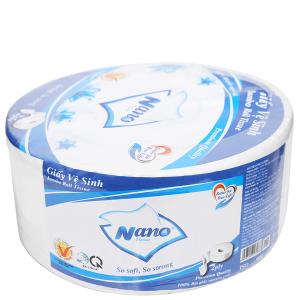 Giấy vệ sinh cuộn lớn Nano 2 lớp