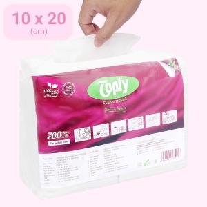 Khăn giấy ăn Toply 1 lớp gói 700 tờ