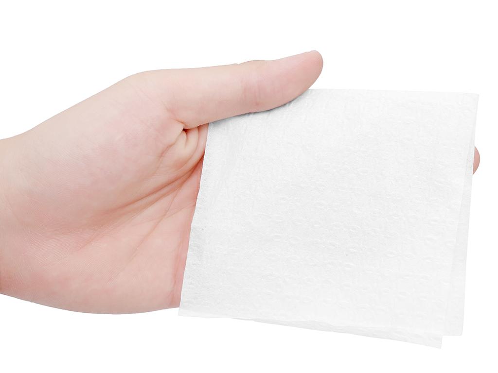 Khăn giấy Toply gói 700 tờ 1 lớp 4