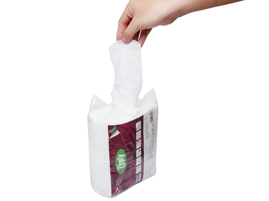 Khăn giấy Toply gói 700 tờ 1 lớp 5