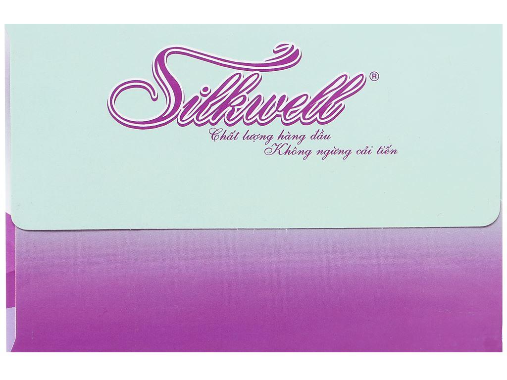 Khăn giấy Silkwell hộp 180 tờ 2 lớp 6