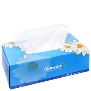 Khăn giấy lụa Homelux New 2 lớp hộp 150 tờ