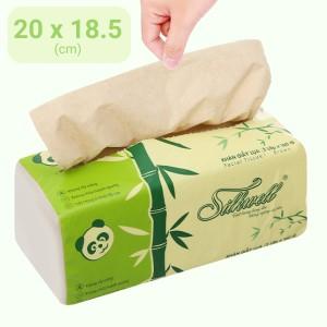 Khăn giấy lụa Silkwell 3 lớp 160 tờ