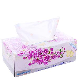 Khăn giấy thơm Cellox Rosy hộp 150 tờ 2 lớp
