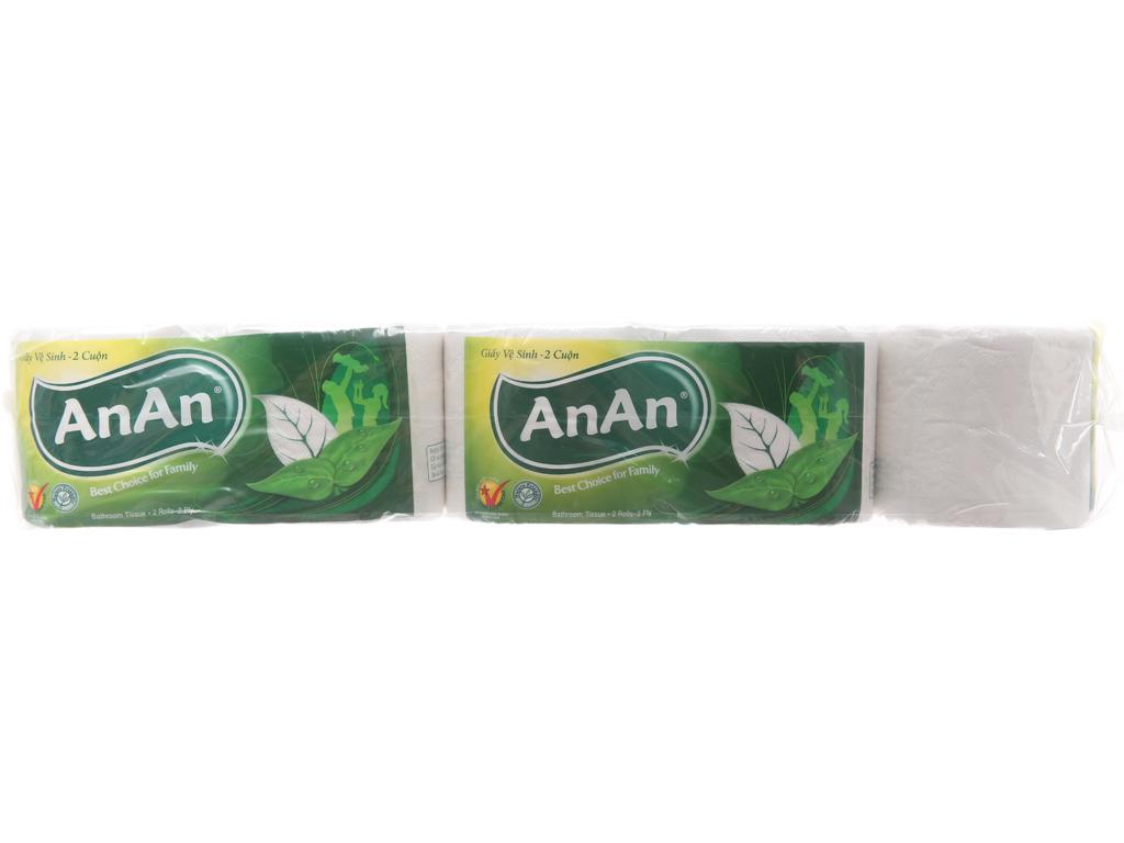 10 cuộn giấy vệ sinh An An 2 lớp 2