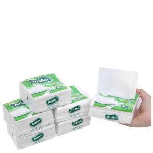 6 gói khăn giấy ăn An An 100 tờ 2 lớp