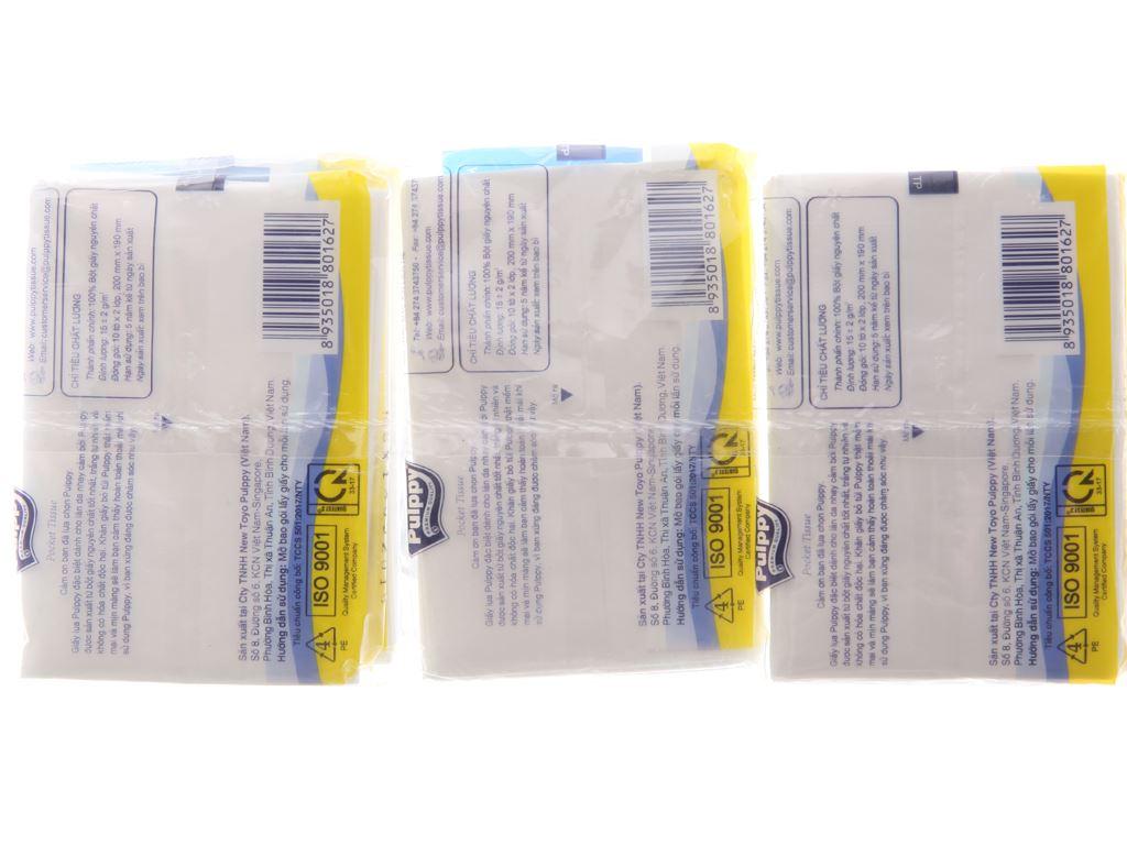 6 gói khăn giấy bỏ túi Pulppy 2 lớp 2